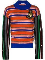 J.W.Anderson Jw Anderson Mixed Stripe Jumper Yellow And Orange