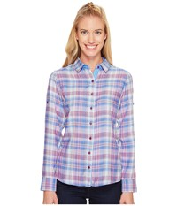 Kuhl Asta Long Sleeve Shirt Atlantis Long Sleeve Button Up Blue