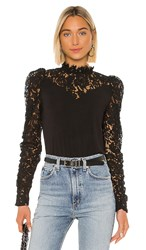 Generation Love Tamra Lace Blouse In Black.