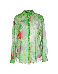 Moschino Cheap And Chic Moschino Cheapandchic Shirts Shirts Women Green