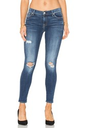 7 For All Mankind The Distressed Ankle Skinny High Street 2