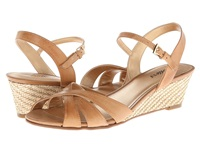 Trotters Mickey Tan Soft Dull Leather Women's Wedge Shoes
