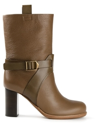 Chloe Chloe Mid Calf Boots Brown