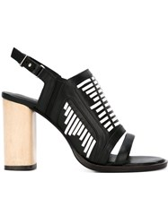 Thakoon Addition 'Lizzy' Sandals Black