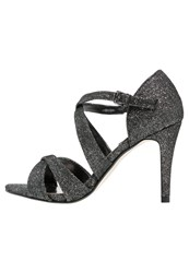 Dorothy Perkins Becca High Heeled Sandals Metallic Silver