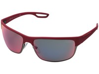 Prada Linea Rossa 0Ps 50Qs Red Matte Gunmetal Red Multilayer Fashion Sunglasses Pink