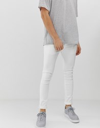 Loyalty And Faith Super Skinny Fit Jeans In White