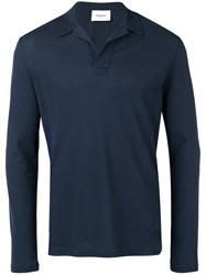 Dondup V Neck Sweatshirt Blue