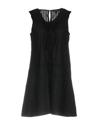 Walter Baker Short Dresses Black