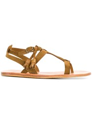 N.D.C. Made By Hand Thong Sandals Nude And Neutrals