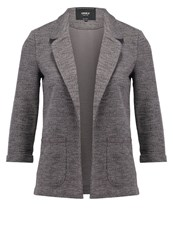 Only Onlcaroline Blazer Dark Grey Melange Mottled Dark Grey