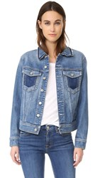 7 For All Mankind Denim Jacket Gold Cost