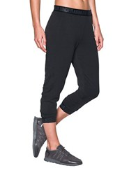 Under Armour Loose Fit Fleece Capri Pants Black