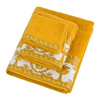 Versace Barocco And Robe Towel Gold