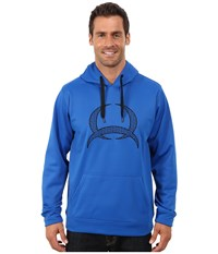 Cinch Pullover Technical Fleece Hoodie Blue Men's Sweatshirt