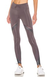 Free People Movement Mid Rise Tap Back Legging Gray