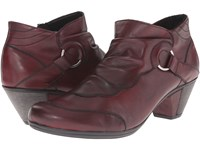 Rieker D1276 Chianti Cristallino Wine Eagle Women's Dress Boots Burgundy