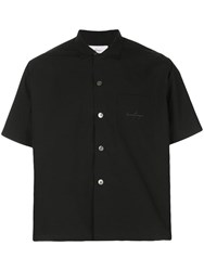 Second Layer Boxy Fit Shirt Black