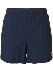 Hugo Boss Logo Swim Shorts Blue