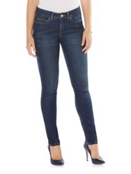 Rafaella Cotton Stretch Skinny Jeans Dark Azure
