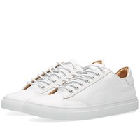 Wings Horns Wings Horns Leather Low Top Sneakers White