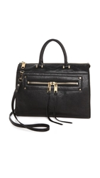 Milly Riley Lg Tote Black