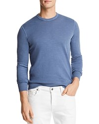 Bloomingdale's The Men's Store At Garment Dyed Crewneck Sweatshirt Blue Horizon