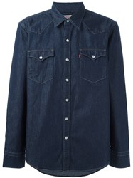 Levi's Barstow Western Shirt Blue