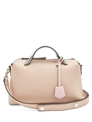 Fendi By The Way Tri Colour Leather Bag Light Pink