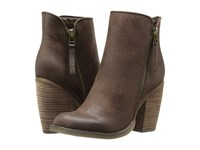 Sbicca Percussion Brown Dress Pull On Boots
