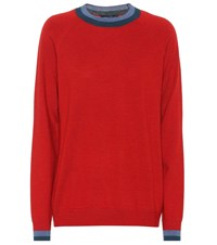 Lndr Chalet Wool Sweater Red