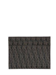 Saint Laurent Monogram Faux Leather Card Holder