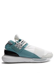 Y 3 Qasa High Top Trainers White Multi