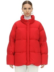 Ienki Ienki Cloud Ultra Light Matte Down Jacket Red