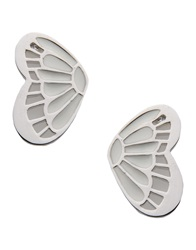 Ted Lapidus Earrings White
