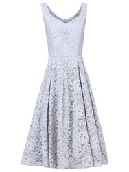 Jolie Moi Lace Prom Dress Grey