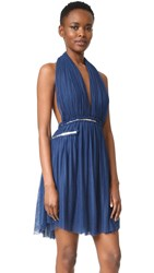 Jay Ahr Dress Astral Blue Silver