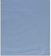 Armani Collezioni Tonal Diamond Silk Blend Pocket Square Sky
