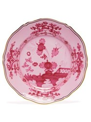 Richard Ginori Oriente Italiano Porcelain Dinner Plate Red Multi