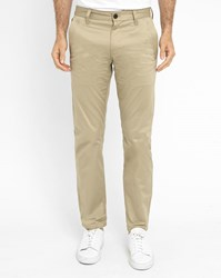 G Star Beige Bronson Slim Fit Chinos