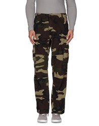 Carhartt Trousers Casual Trousers Men Military Green