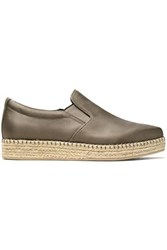 d5b2c55815a7 Dkny Leather Espadrille Sneakers Mushroom