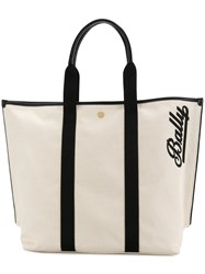 Bally Medium Tote Bag Nude And Neutrals