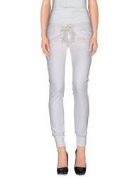 Hydrogen Trousers Casual Trousers Women White