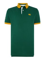 Canterbury Of New Zealand Country Pique Polo Green
