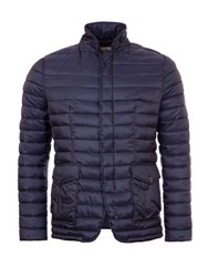 Garcia Quilted Shell Jacket Navy