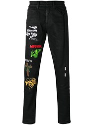 Off White Rock Jeans Black