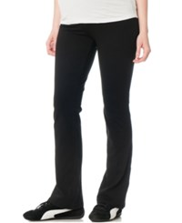 Motherhood Maternity Yoga Pants Black