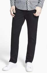 True Religion Men's Big And Tall Brand Jeans 'Rocco' Slim Fit Jeans Midnight Black