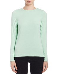 Lord And Taylor Iconic Fit Crewneck Sweater Fiji Green
